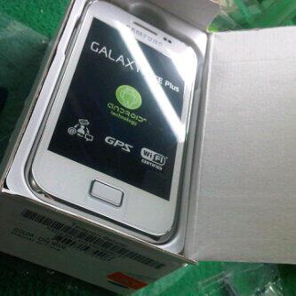 New Samsung Galaxy Ace plus GT-S7500