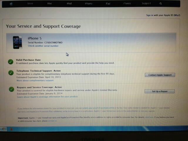 Jual Iphone 5 BLACK 16GB 3 minggu pakai Garansi Resmi bundling indosat Jogja solo