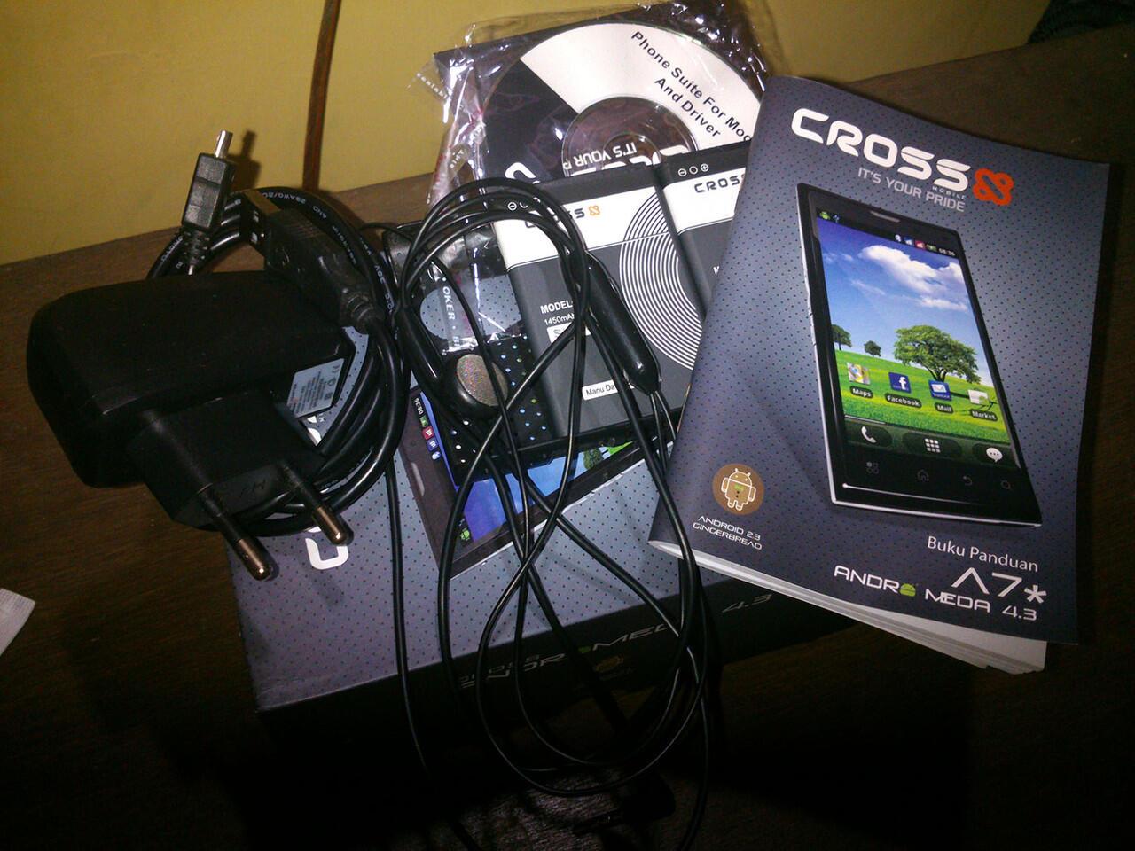 Cross A7* Fullset masih Garansi