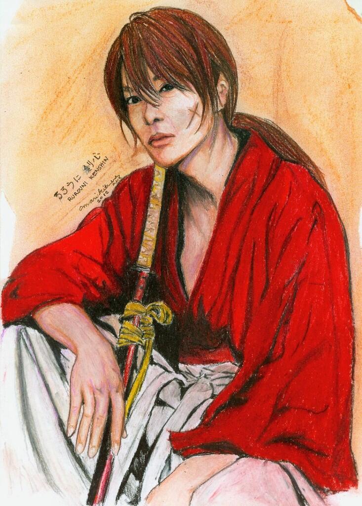 KENSHIN HIMURA (KAWAKAMI GENSAI) SAMURAI X TRUE STORY ...