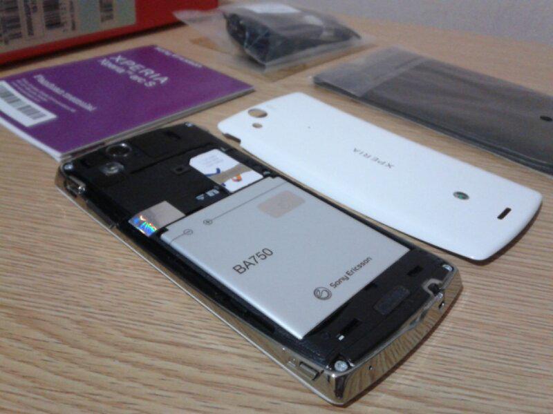 Sony Xperia ArcS White Solo