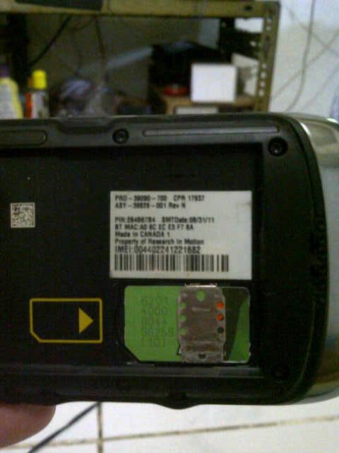 Blackberry orlando 9380