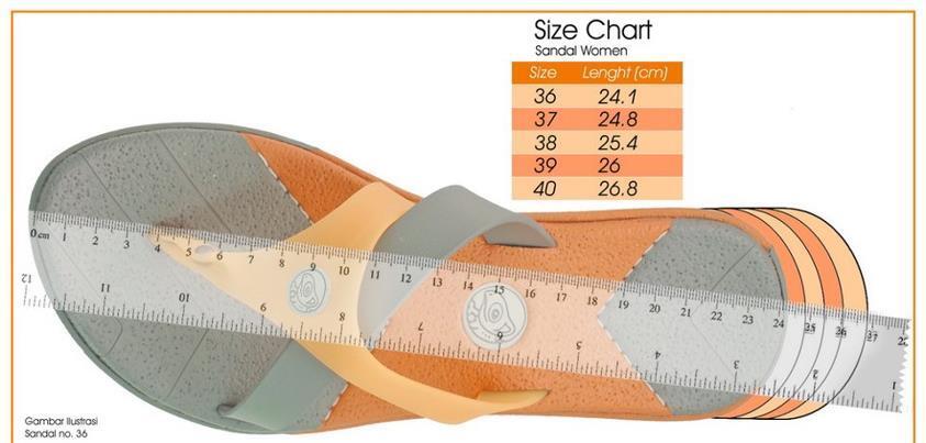 Transparency Sandal Model II