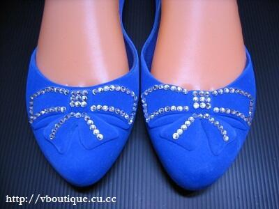 Sepatu Jelly Suede (Impor)