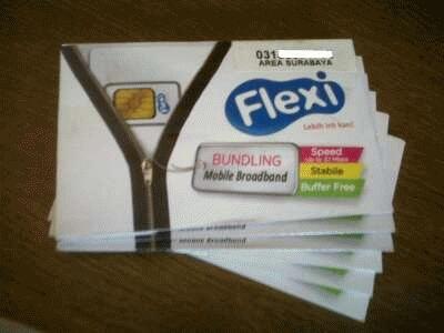 Flexi Evdo Unlimited 6 Bulan Speed 3.1 Mbps