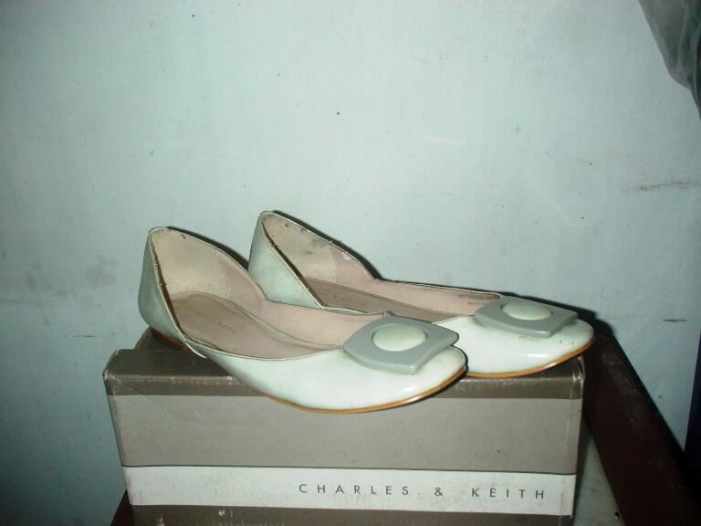 sepatu GOSH,MARIE CLAIRE,CHARLES&KEITH.