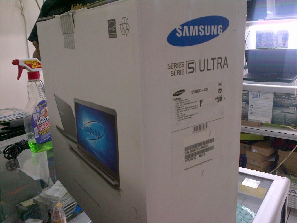 Notebook samsung kaskus - Laptop Netbook Ultrabook Samsung Np530 Core I3 3217u 4gb 500gb
