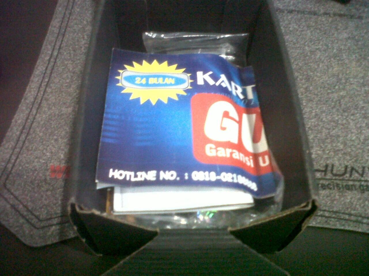 GEMINI 8250 GSM black bandung
