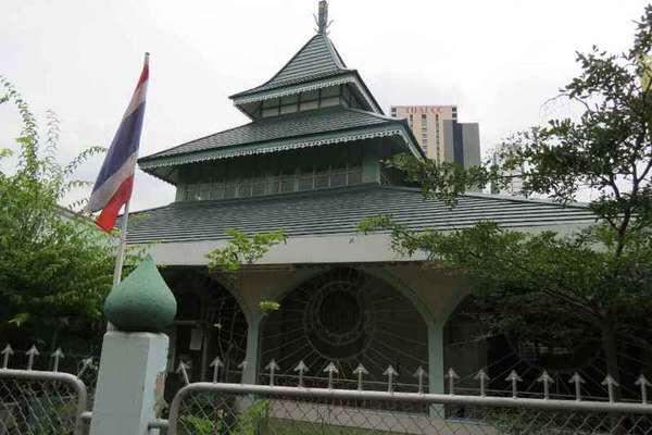 Masjid Jawa,tapi Kok di Bangkok?