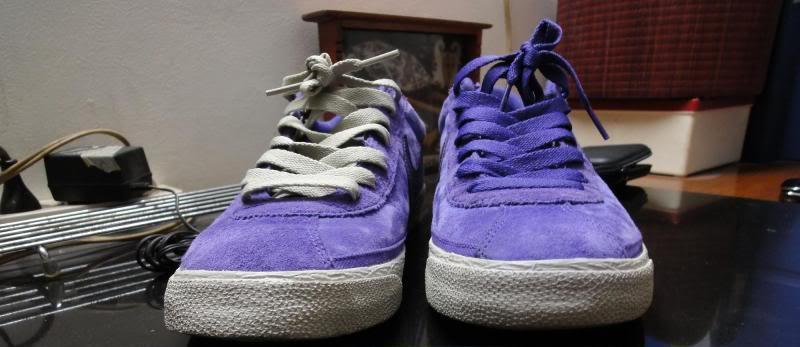 DIJUAL : Nike SB Bruin Purple Suede ORIGINAL 2nd