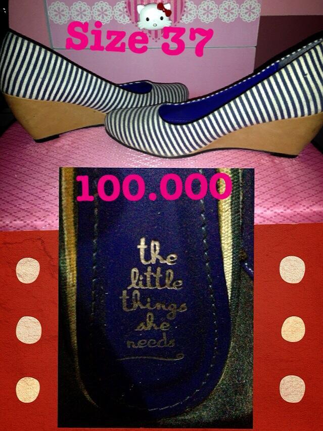 jual heels charles and keith 50 rb aja!!!!