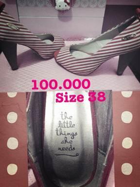 sale!!!! jual heels charles and keith 100 rb ajaaa !!! hot saleee !!!!