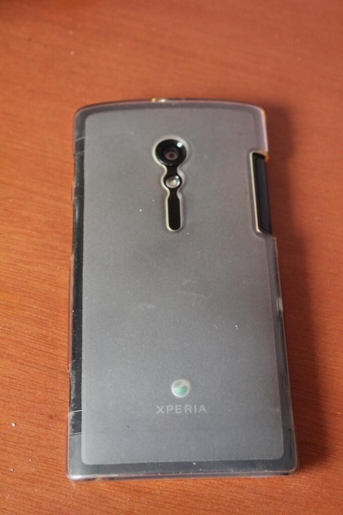 Xperia ION LT28H Batangan mantappp + Softjacket