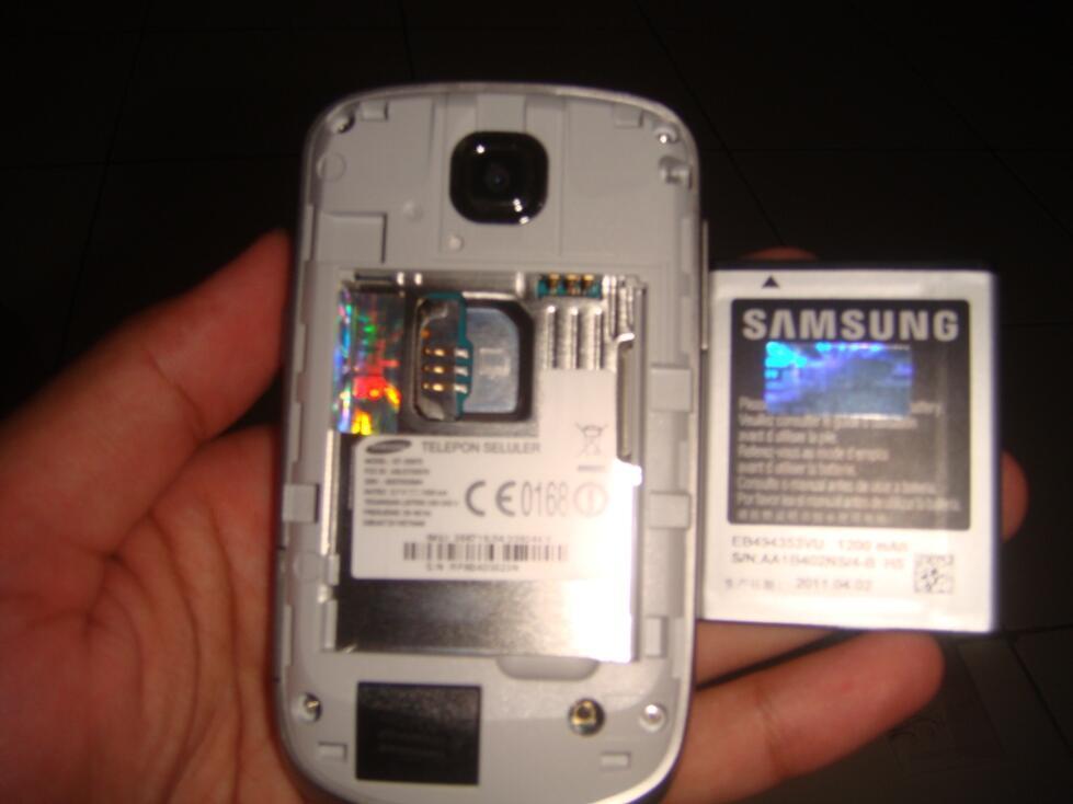 samsung galaxi mini s 5570 android super mulus istimewa