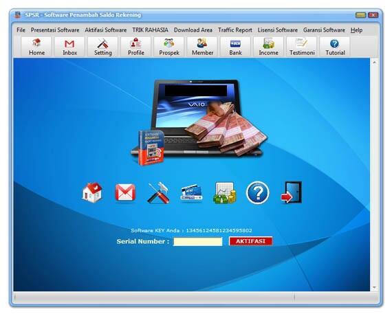 Cukup Install Software Uang Mengalir Ke Rekening 24 Jam!