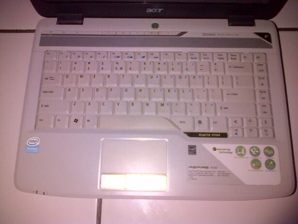 LAPTOP GAME ACER (HDD 250GB - RAM 2 GB)