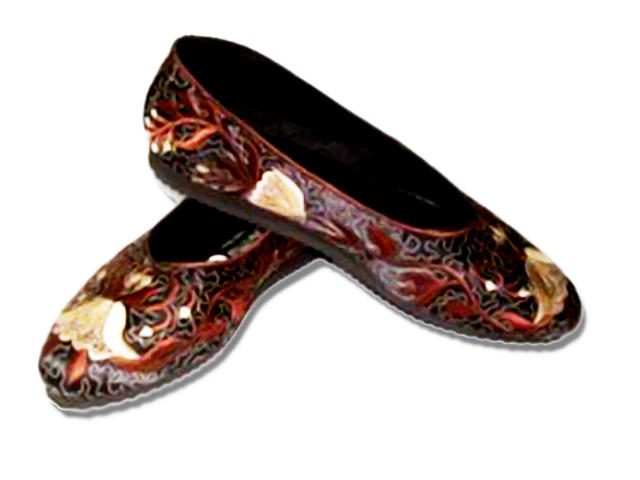 Jual Sepatu, Flat Shoes Bordir, Boot Wanita, Sarung Handphone