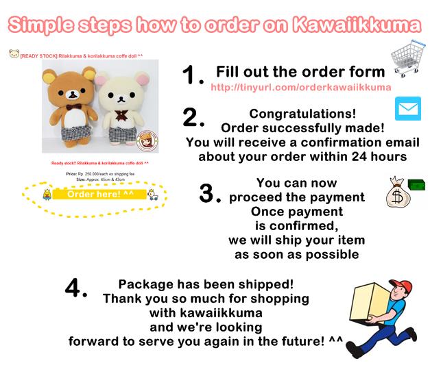 Rilakkuma original & authentic dolls from san-x japan. Get it on www.kawaiikkuma.com!