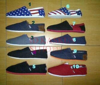 Terjual Toms Shoes Kw Super ecdca0e3c7