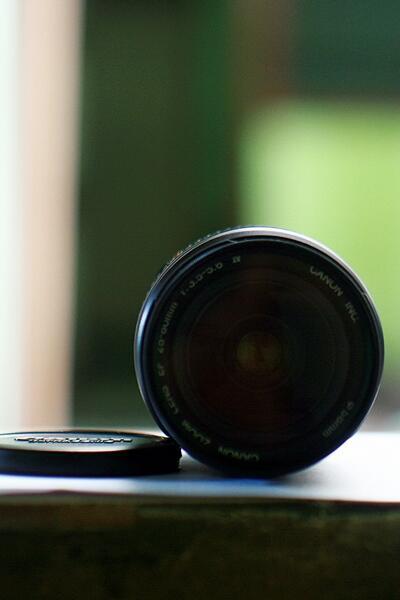 JUAL : LENSA CANON EF 28-80mm USM SEMARANG