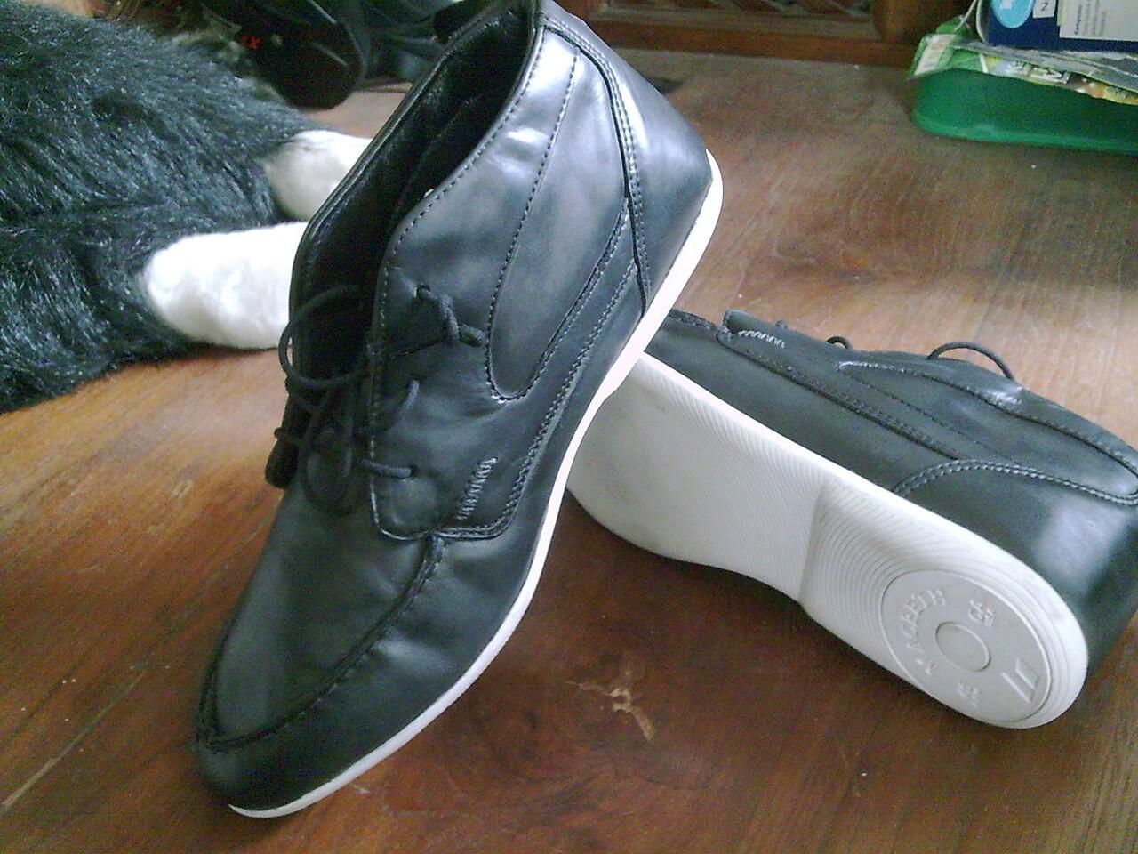 macbeth caulfield kulit black leather original (no box)