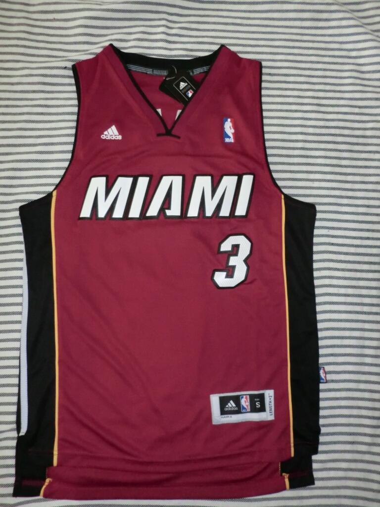 ★★[Ready] NBA Jersey MIAMI #3 S Swingman Revo30 Grade Ori! ★★