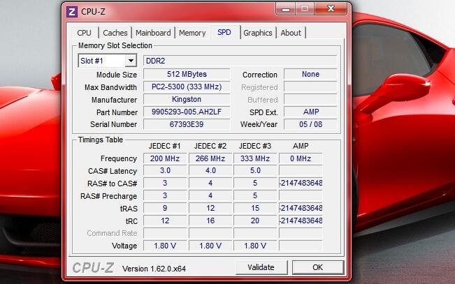 memory laptop ddr2 PC2 5300 2 x 512Mb (Tangerang, Depok)