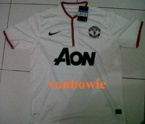 Jual Jersey Manchester United Away Player Issu Size M - BNWT