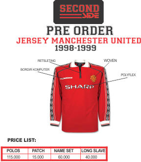 JERSEY MANCHESTER UNITED PRE ORDER