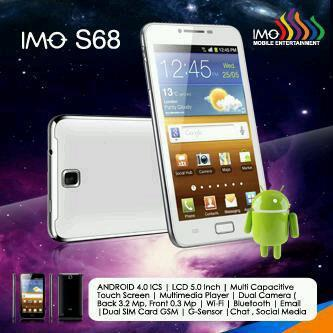 TABLET PC 5 INCH IMO S68 Snow