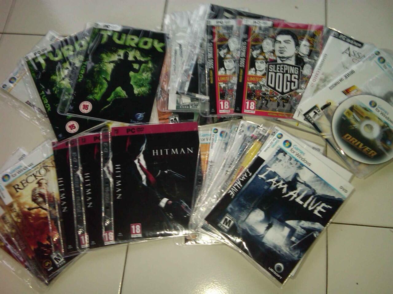 DVD GAMES PC BANDUNG PAKET COVER PC GAMES TERMURAH 3500/DVD