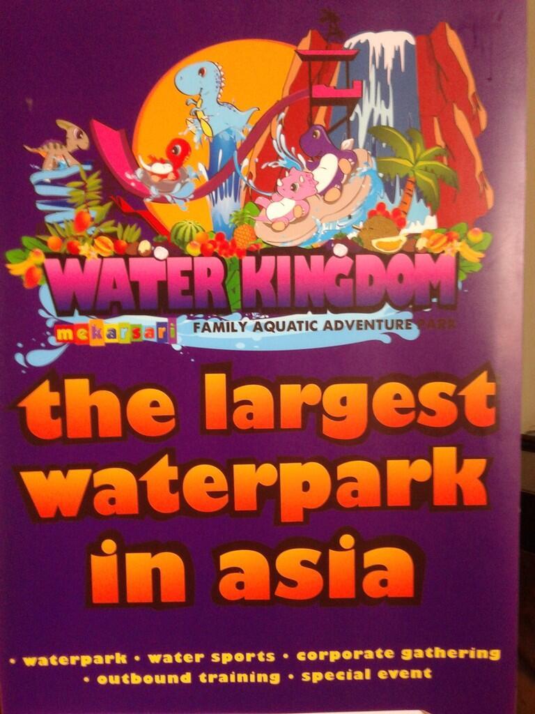 Jalan Ke Water Kingdom Katanya Waterpark Terbesar Se Asia Voucher Tiket Masuk Waterkingdom Mekarsari Cileungsi Fr