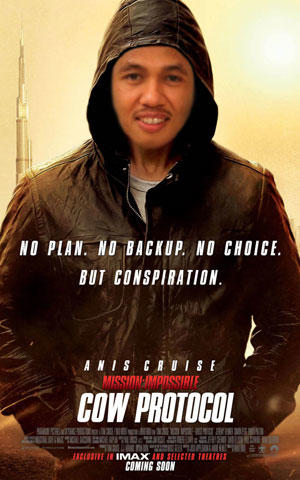 [Konspirasi Film Oniss]Anis Matta Minta Kader PKS Nonton Mission Impossible 4 !!