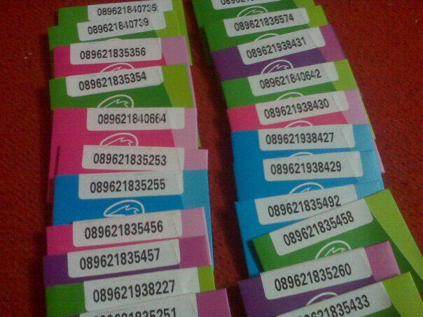 Kartu Perdana TRI Jumbo Pulsa 1.5000 bonus Internet 600 MB Malang