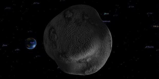 Melintasi Bumi, Asteroid DA14 Pecahkan Rekor
