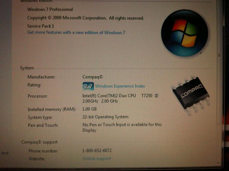 Laptop HP 6510b 85% Mulus