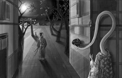 53 Gambar Hantu Leher Panjang Gratis Terbaik