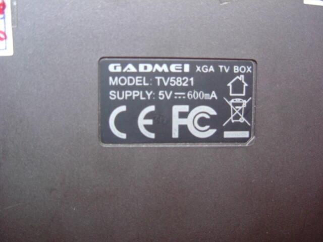 GADMEI XGA TV BOX TV5821 BISA LCD ADA FM BEKAS SOLO MURAH