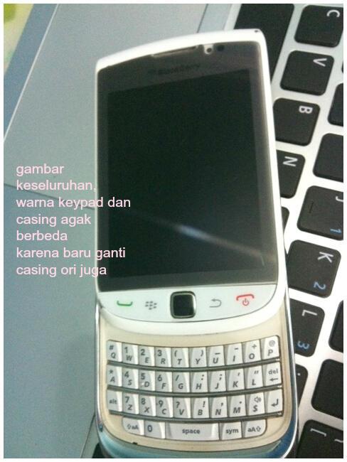 Jual Blackberry Torch 1 Putih Second Murah