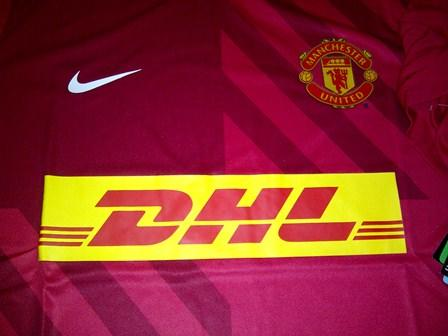 new products 25220 71c42 Terjual READY STOCK New Jersey MANCHESTER UNITED (MAN UTD) DHL PRE MATCH  size M