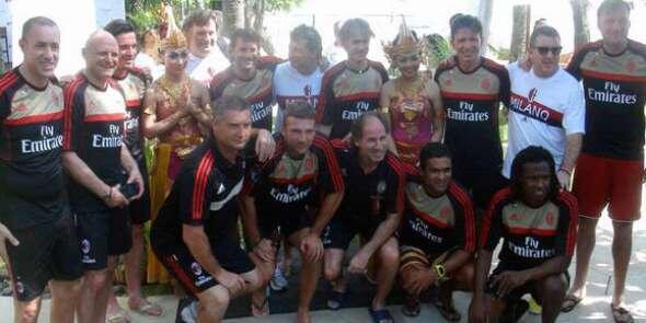 Bali didatangi AC Milan Glorie