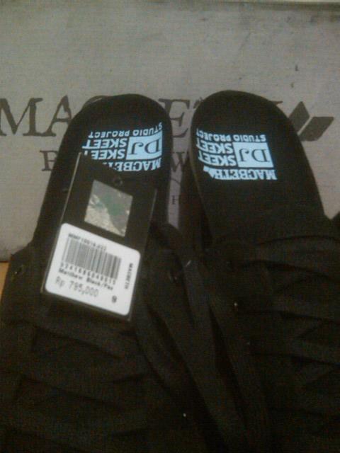 Sepatu Macbeth Original Pendleton & matthew dj skett