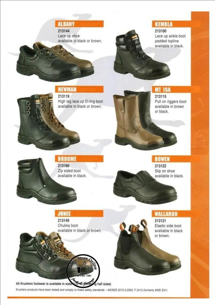 terjual safety shoes cheetah krushers howler kaskus. Black Bedroom Furniture Sets. Home Design Ideas