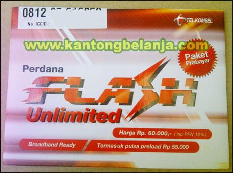 PROMO Kartu Perdana Telkom Flash Free Internetan 3 Bulan