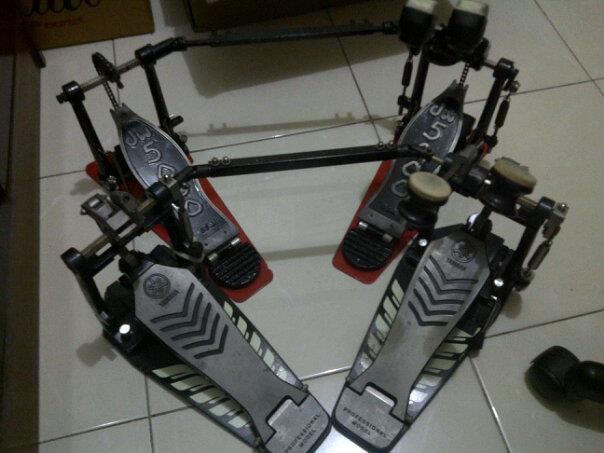 Double Pedal DW5002 second
