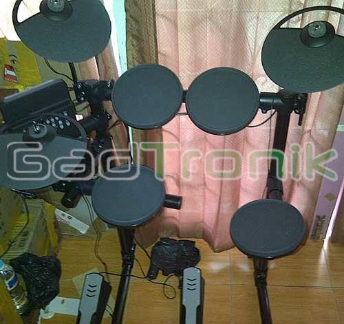 Drum Elektrik Yamaha DTX 400 K Mulus Baru Pakai 2 Minggu