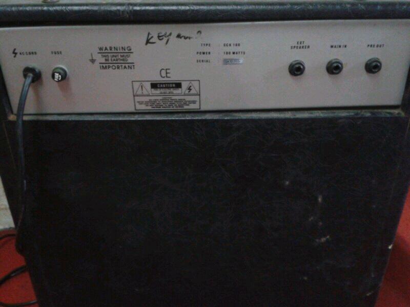amply keyboard silver crest sck 100