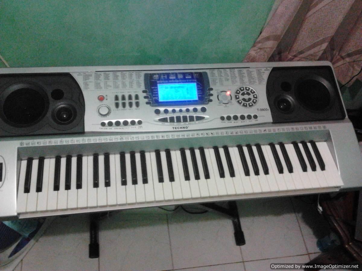 Keyboard Techno T9900i 2nd Original LENGKAP Murahhh