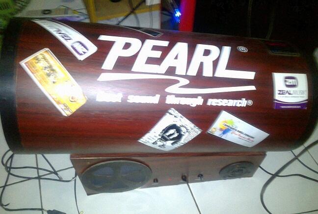 "Speaker ""Pearl"" Meriam Bass Mantep (Nego)"