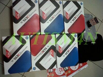 nintendo 3ds ASIA/US ver new, bnib, segel+garansi dan Accesories!